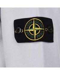Stone Island - Multicolor Badge Sleeve Sweatshirt for Men - Lyst