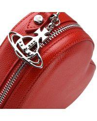 Vivienne Westwood - Red Johanna Heart Cross Body Bag - Lyst