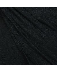 Vivienne Westwood Anglomania Black Vian Draped Long Sleeved Dress