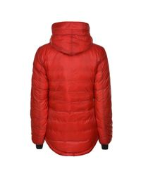 Canada Goose - Red Camp Hooded Jacket - Lyst