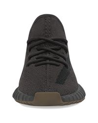 Adidas Originals Black Yeezy Boost 350 V2 Running Shoes for men
