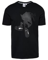 PUMA Black Sonic T-shirt for men