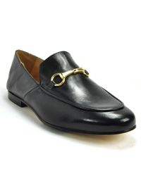 275 Central - Black Leather Closed Flat - Lyst