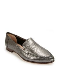 3deffa4d275 Lyst - Kate Spade New York Crackled Loafer in Gray