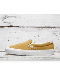 97db223302fe33 Lyst - Vans Og Slip-on 59 Lx in Yellow for Men