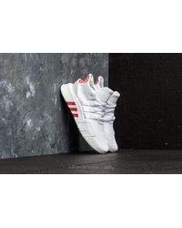 Adidas Originals - Adidas Eqt Bask Adv Ftw White/ Ftw White/ Trace Scarlet for Men - Lyst