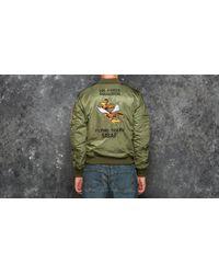 Footshop Alpha Industries Ma-1 Vf Flying Tigers Sage Green for men