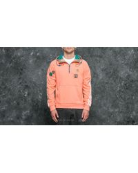 Adidas Originals Multicolor Adidas Hu Hiking Hood Sweat Sunglow/ Equipment Green for men