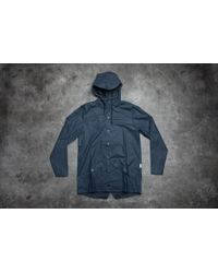 Footshop - Rains Jacket Blue for Men - Lyst