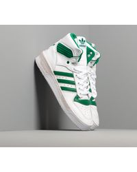 Adidas Rivalry Ftw White/ Bright Green/ Grey One Adidas Originals de hombre