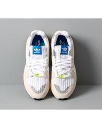 Adidas ZX Torsion Ftw White/ Raw White/ Easy Yellow Adidas Originals de hombre