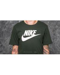 Nike - Sportswear Icon Futura Tee Dark Green for Men - Lyst