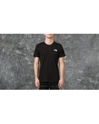 Footshop The North Face M Short Sleeve Simple Dome Tee Black for men
