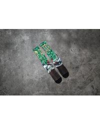Huf - Big Cats Crew Sock Green for Men - Lyst