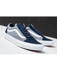 Vans - Multicolor Old Skool (suiting) Blueberry/ True White for Men - Lyst