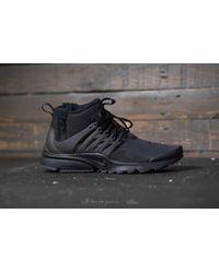 Nike Air Presto Mid Utility Black/ Black-dark Grey for men