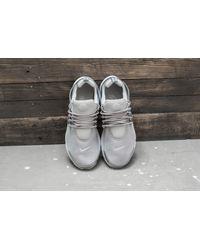 Nike Air Presto Premium Metallic Silver/ Pure Platinum for men