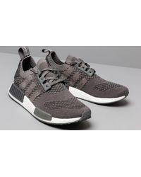 Adidas NMD_R1 Primeknit Ash/ Ash/ Grey Five di Adidas Originals in Gray da Uomo