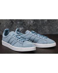 Adidas Originals Gray Adidas Campus Stitch And Turn Raw Grey/ Raw Grey/ Ftw White