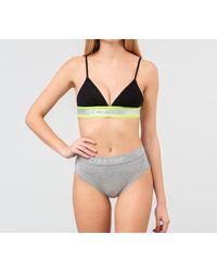 Bikini Grey Calvin Klein de color Gray