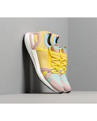 Adidas Originals Yellow Adidas X Stella Mccartney Ultraboost 20 S. Dust Rose/ Free Lemon/ Clblue