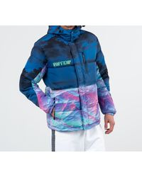 Thermal Nermal Puffer Jacket Blue RIPNDIP pour homme