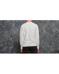 Champion Gray Crewneck Sweatshirt Light Oxford Grey for men