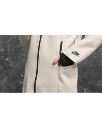 Nike Multicolor Sportswear Tech Fleece Jacket Light Bone/ Black