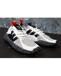 Adidas Originals - Adidas F/ 22 Primeknit Crystal White/ Core Black/ Trace Orange for Men - Lyst