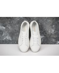 Footshop Axel Arigato Clean 90 Leather White for men