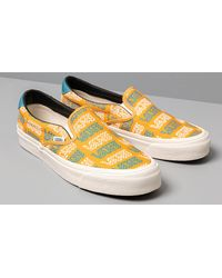 OG Slip-On 59 LX (Canvas) Golden Glow Vans de color Yellow