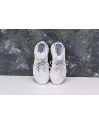 Adidas Originals Gray Adidas Tubular Doom Sock Primeknit Ftw White/ Grey Three/ Collegiate Burgundy for men