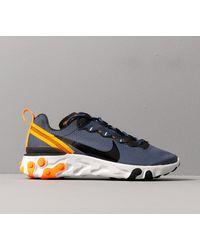 React Element 55 Se Midnight Navy/ Black-Total Orange Nike de hombre de color Blue
