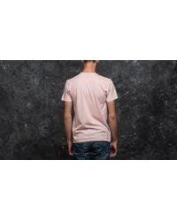 KTZ - Pink Sandwash Pill Tee Blossom for Men - Lyst