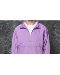 Footshop Purple Polar Skate Co. Anorak Jacket Lavender for men