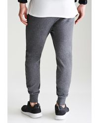 Forever 21 - Gray Classic French Terry Sweatpants for Men - Lyst