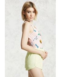 Forever 21 Multicolor The Simpsons Graphic Bodysuit