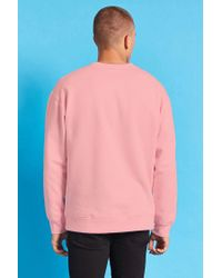 Forever 21 Pink Taco Bell Patch Sweatshirt for men