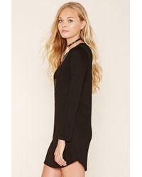 Forever 21 - Black Classic T-shirt Dress - Lyst