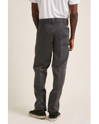 Forever 21 Gray Dickies Slim-fit Work Pant for men