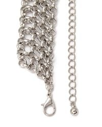 Forever 21 - Metallic Layered Chain-link Necklace - Lyst