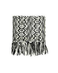 Forever 21 - Black Fringed Infinity Scarf - Lyst