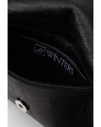 Forever 21 - Black Jj Winters Josie Fringed Leather Crossbody - Lyst
