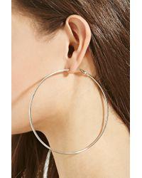 Forever 21 | Metallic Classic Hoop Earring Set | Lyst