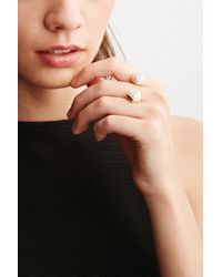 Forever 21 | Metallic Cc Skye Duality Ring | Lyst