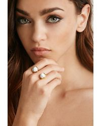 Forever 21 - Metallic Cc Skye Duality Ring - Lyst
