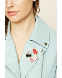 Forever 21 - Multicolor Movie Theater Pin Set - Lyst