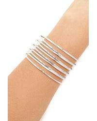 Forever 21 | Metallic Spiral Bangle Bracelet | Lyst