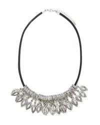 Forever 21 | Metallic Teardrop Statement Necklace | Lyst