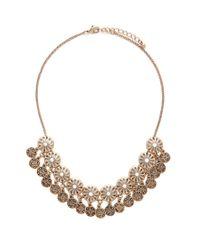 Forever 21 | Metallic Medallion Collar Necklace | Lyst